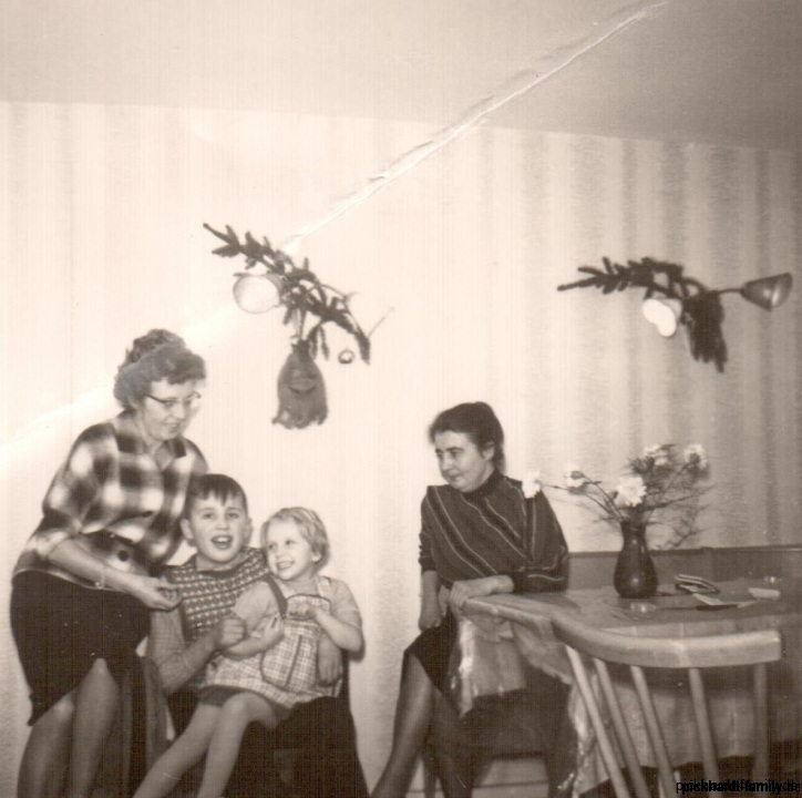 1959-Elsbeth, Rainer, Ulrike, Annemarie