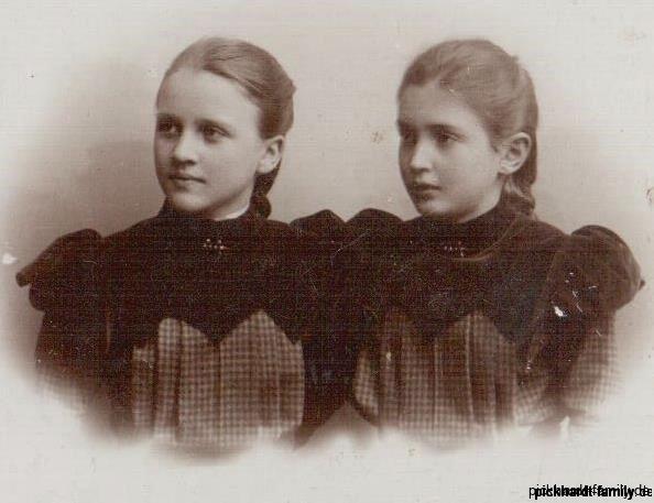 Adele und Helene Pickhardt