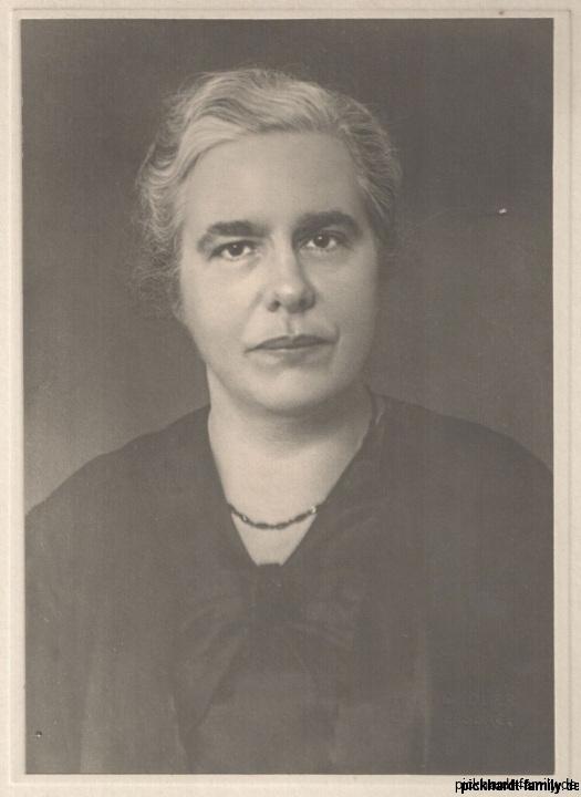 Else Pickhardt geb. Schlencke 1937