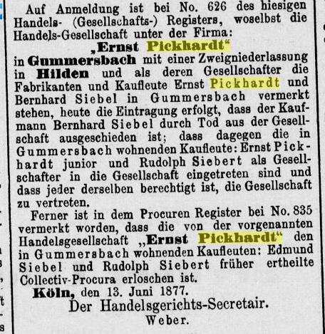 Norddeutsche Zeitung 13.06.1877