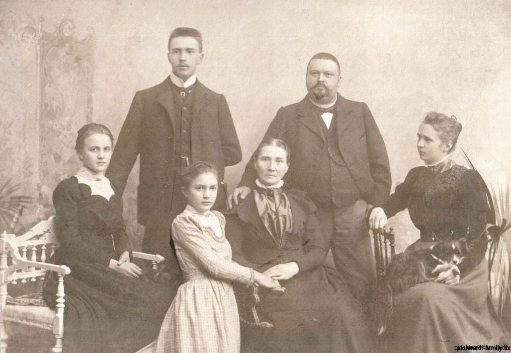 1853-10-19 Ernst Heinrich Pickhardt (Junior) +Familie2