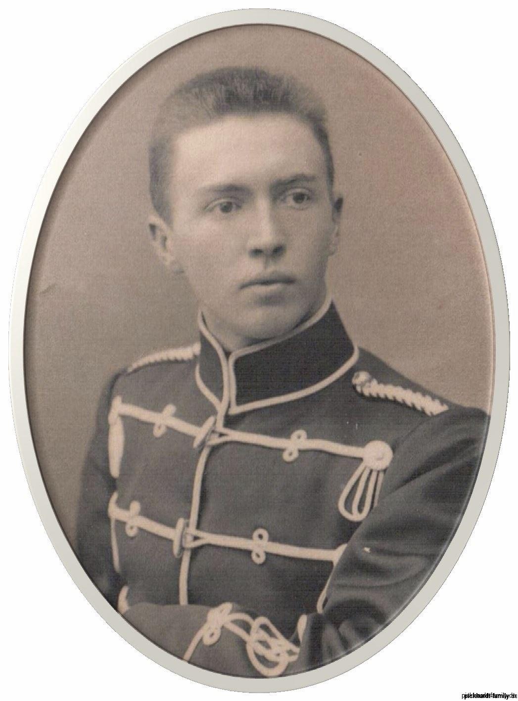 1878-05-12 Ernst Pickhardt- Einjahriger
