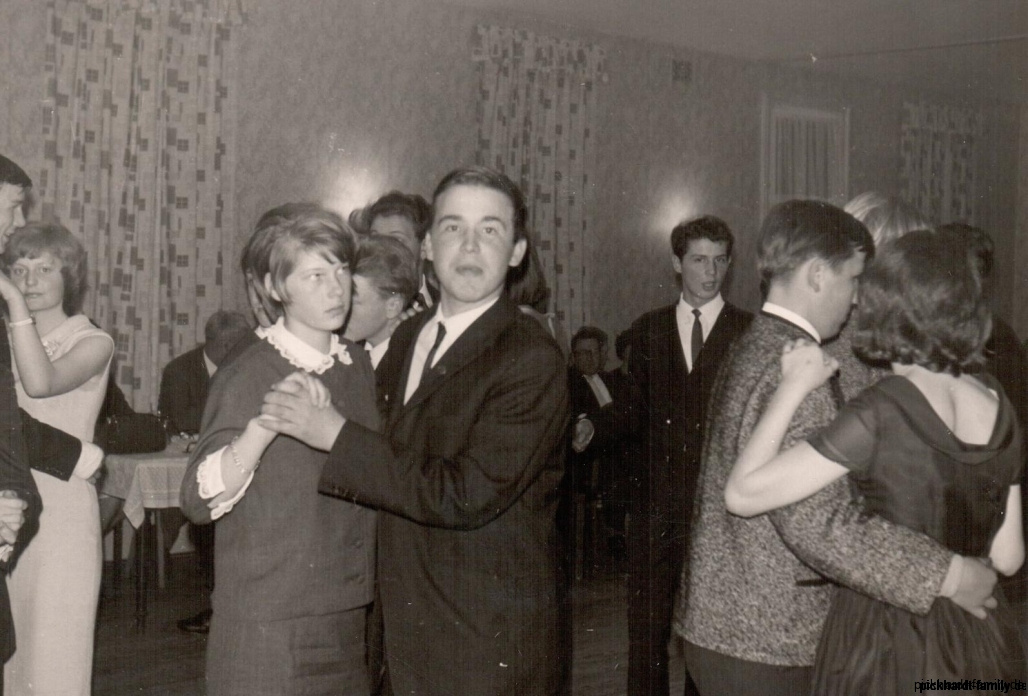 1965 Tanzunterricht Schule Nebel auf Amrum