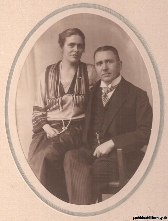 Ernst und Else Pickhardt geb. Schlencke