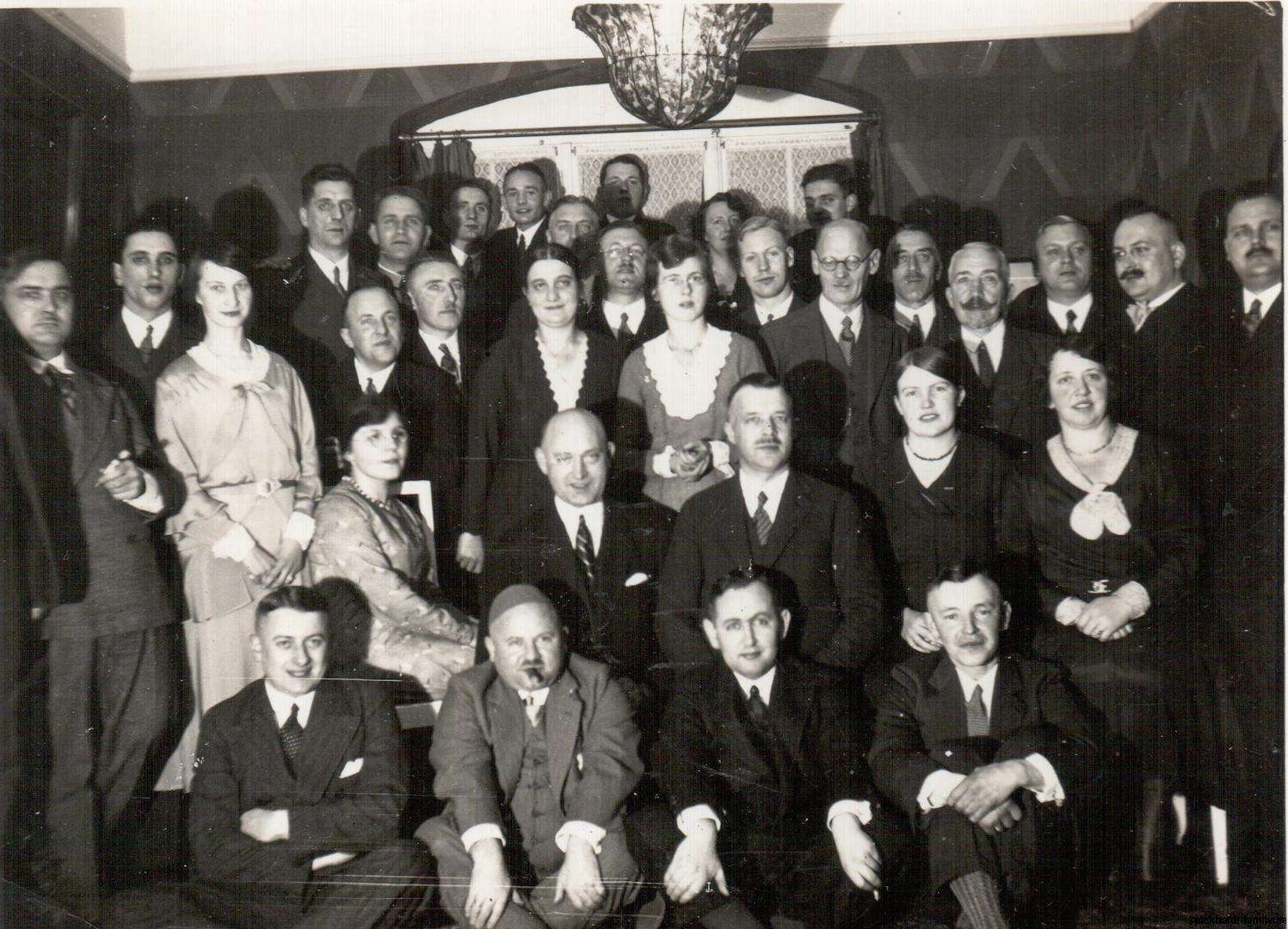 Tapetenfabrik um 1925