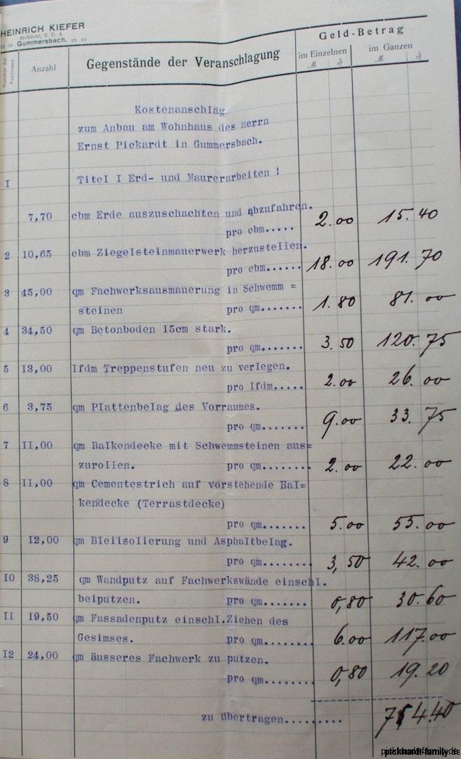 1912 Umbau Villa Pickhardt Kaierstraße 75, Gummersbach411