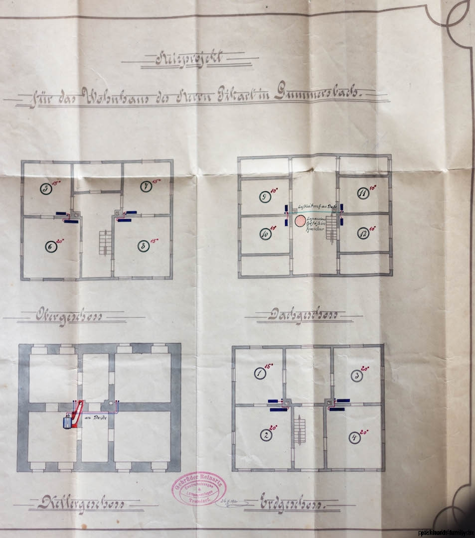 1913 Umbau Heizung Villa Pickhardt Kaierstraße 75, Gummersbach212