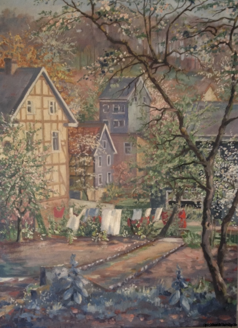Gartengemaelde Kaiserstr. 75 Gummersbach 1954