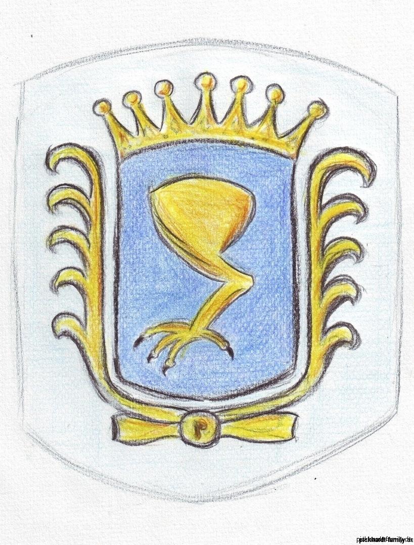 Piccardt Wappen nach Johan Piccardt Drenthe 1600